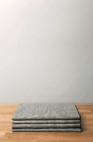 stack,  sheets,  minimal,  wood,  table,  white,  wall,  clothes,  blanket,  shirt,  t shirt