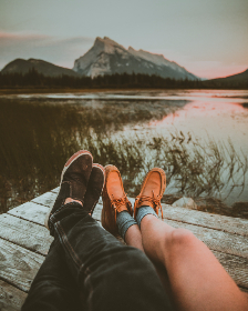 mountains,  lake,  Alberta,  travelling,  couple,  love,  dating,  girl,  boy,  together,  romantic,  sunset,  mountain,  nature,  cute