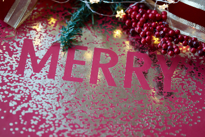 christmas,  words,  background,  merry,  xmas,  festive,  seasonal,  gift,  box,  berries,  copyspace,  celebration,  texture,  holidays
