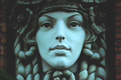 free photo of statue  face