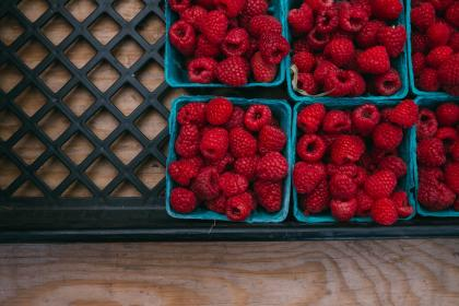 free photo of raspberries  berries