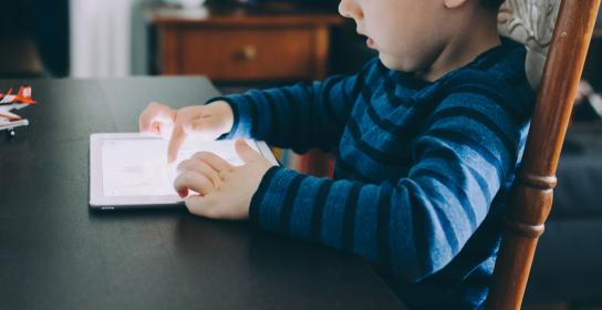 people, kid, baby, child, boy, toddler, ipad, tablet, gadget, touchscreen, play