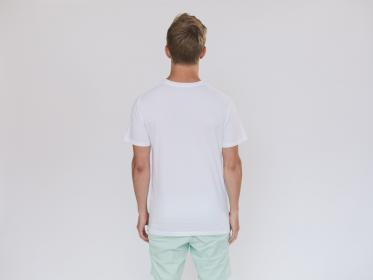 people, man, male, guy, white, shirt, back