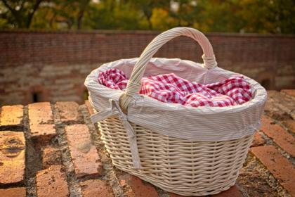 basket, blur, outdoor, picnic, nature