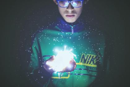 lights, people, man, eyeglasses, nike, green, christmas lights, photography
