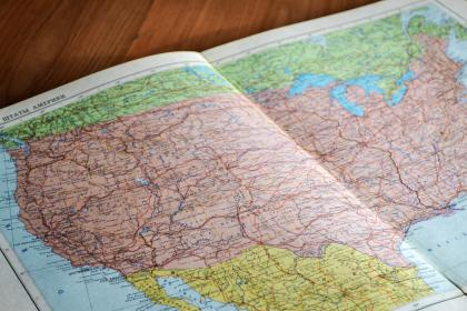 world, map, scrapbook, paper, travel, nagivation