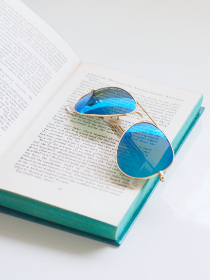 free photo of blue   sunglasses