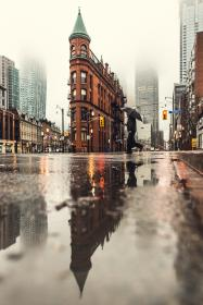 water, rain, raindrop, road, wet, reflection, pedestrian, stoplight, street, urban, people, man, building, infrastructure, crossing, establishment