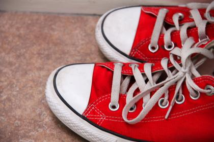 red, converse, shoes, sneakers
