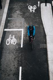street, road, bike, bicycle, lane, people, riding, man, travel, outdoor, fitness, exercise, health