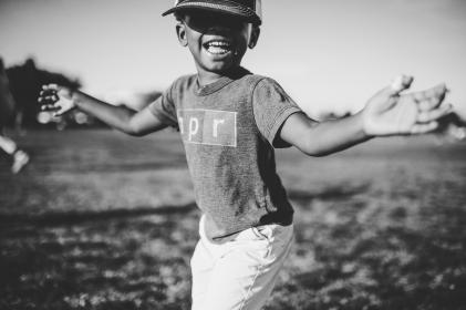 people, child, boy, happy, black and white, smile, african american