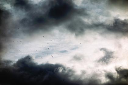 nature, dark, sky, clouds, white, black, ashes, particles