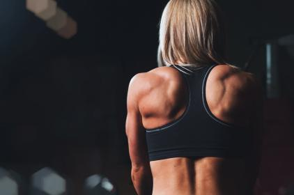 girl, woman, fitness, workout, gym, muscles, people, back, health, athlete