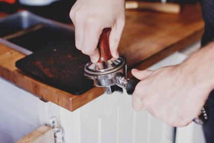 cafe, coffee, beans, grinds, espresso