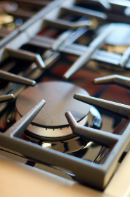 gas,  stove,  burner,  macro,  closeup,  kitchen,  oven,  cooking,  appliance,  home,  cooker,  grates,  steel,  industrial,  tool