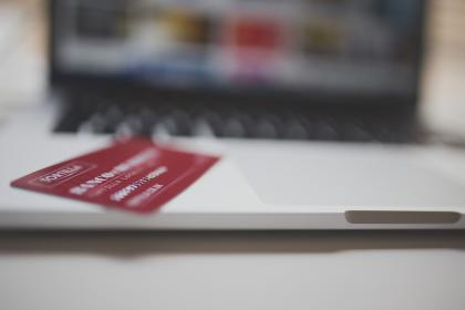 credit card, payment, transaction, laptop, computer, technology