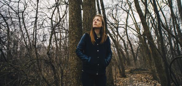 people, girl, female, lady, millennials, trees, branches, outdoor, forest