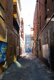 Photo of alley
