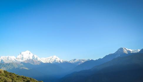 Photo of annapurnamountainrange