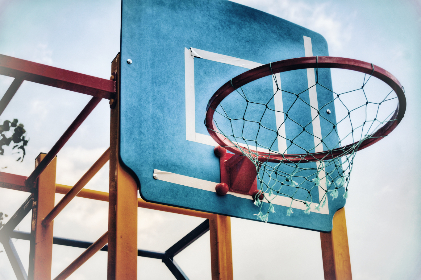 Photo of basketball