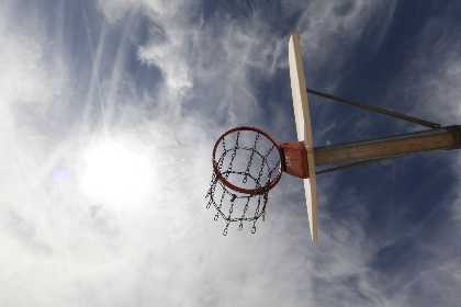 Photo of basketballhoop