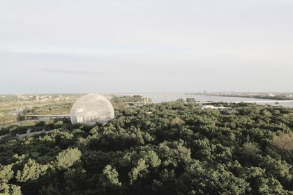 Photo of biosphere
