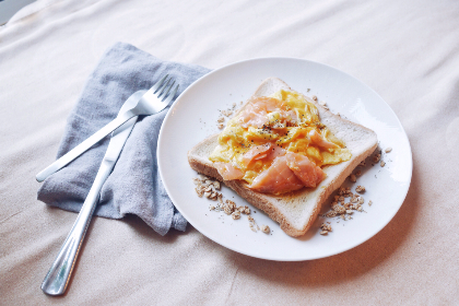 breakfast smokedsalmon