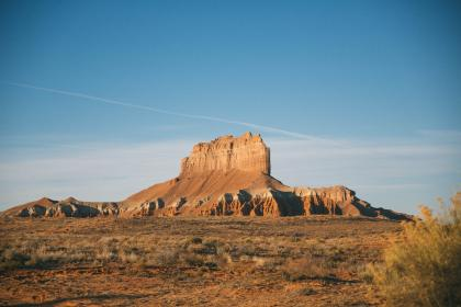 Photo of butte