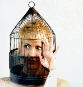 cage woman