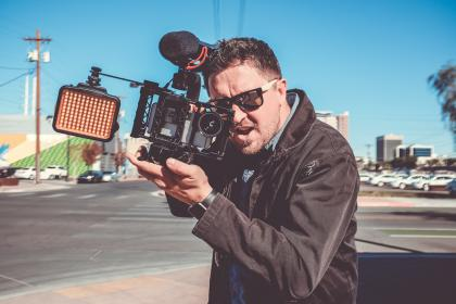 Photo of cameraman