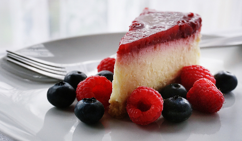Photo of cheesecake