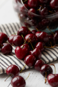 cherries fruit