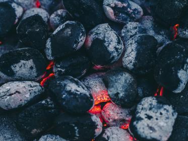 Photo of coals