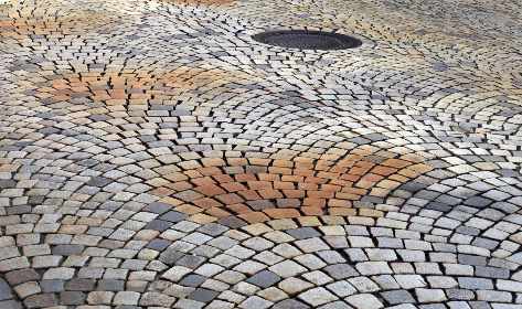 Photo of cobblestone