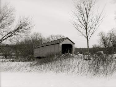 coveredbridge snow