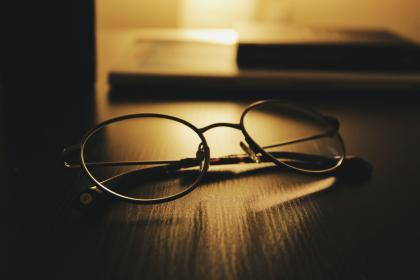 Photo of eyeglasses