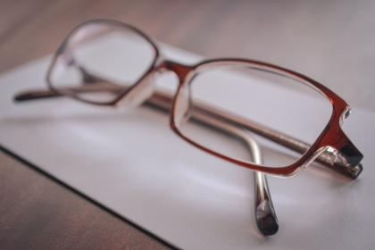 eyeglasses reading
