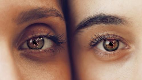 Photo of eyes