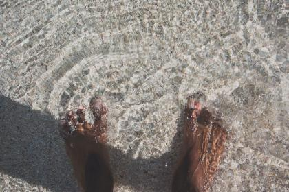 Photo of feet