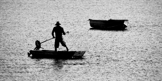 Photo of fisherman