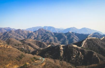 greatwallofchina mountains