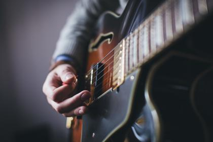 Photo of guitar