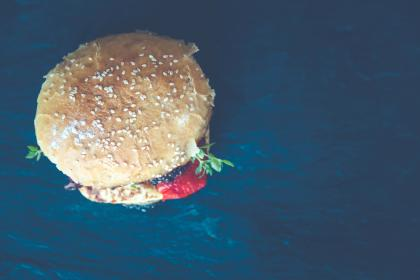 Photo of hamburger