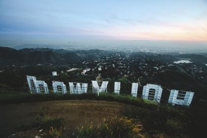 hollywood aerial