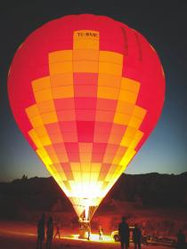 hotairballoon fire