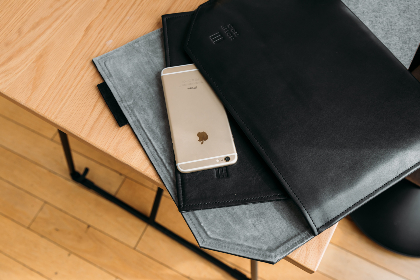 iphone leather