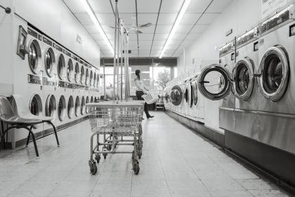 Photo of laundry