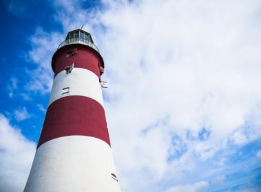 lighthouse clouds