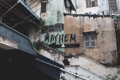 Photo of mayhem