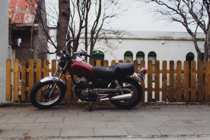 Photo of motorcycle